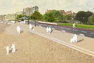 Some of the latest designs for the Southsea sea defences