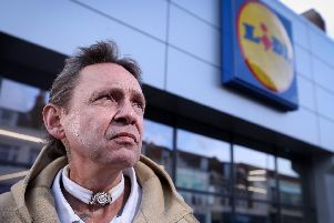 Paul Bailey who was accused of shoplifting from Lidl in London Road, Portsmouth'Picture: Chris Moorhouse     (091019-30)