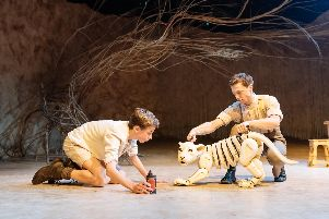 The Butterfly Lion is at Chichester Festival Theatre until November 15. Picture: Manuel Harlan
