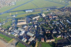 An aerial view of the Solent Enterprise Zone