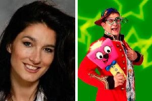Diane Youdale and Timmy Mallett