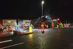 Residents have  complained to the council after being kept awake by overnight roadworks on Havant Road.