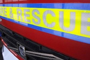 Fire crews tackle blaze caused by 'reflective sunlight'