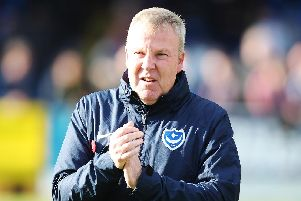 Kenny Jackett remains convinced he can turn around Pompey's season. Picture: Joe Pepler