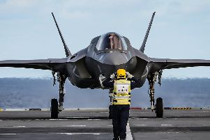 F-35B landing will be ramping in the next few weeks as the Royal Navy looks to intensify tests.