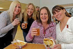 Guests at the Portchester Cider and Sausage Festival in 2016.