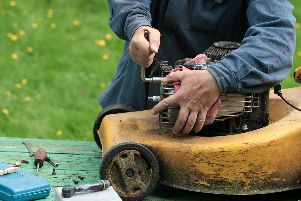 Get your lawnmower serviced before the rush next spring. Picture: Shutterstock