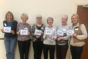 Volunteers at the dementia-friendly Memory Cafe in the Methodist Church Hall, Stubbington.