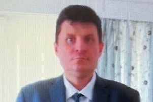 Nigel Bulley, 44, of Havant has been missing since this morning. Photo: Hampshire police