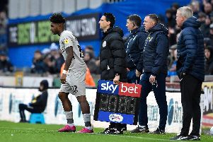 Gaffer for a Day, Paul Fletcher, was disappointed Ellis Harrison was Kenny Jackett's only substitute against Bristol Rovers - and used in the 90th minute. Picture: Graham Hunt/ProSportsImages
