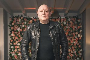 Shaun Ryder, frontman of The Happy Mondays, who are playing at The Pyramids, Southsea, on November 9, 2019. Picture: Paul Husband