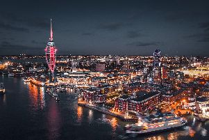 Old Portsmouth at dusk. Picture: Louis Stacey'https://louisstaceyphotography.squarespace.com