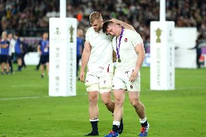 World Cup final agony for George Kruis and Tom Curry  - but rugby showed the power of sport to put a smile on the nation's face in recent weeks