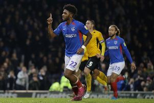 Ellis Harrison was Chris Overthrow's man of the match against Southend. Picture: Robin Jones/Getty Images