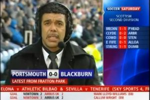 The iconic moment when Chris Kamara missed the sending off of Pompey's Anthony Vanden Borre against Blackburn live on Sky Sports