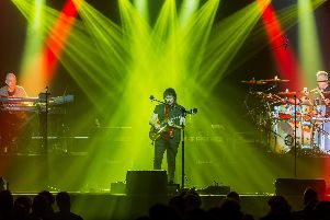 Steve Hackett Band, who are at Portsmouth Guildhall on November 13, 2019. Picture by Simon Lowery