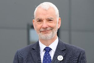 Hampshire police and crime commissioner Michael Lane. Picture: Sarah Standing (050319-2253)