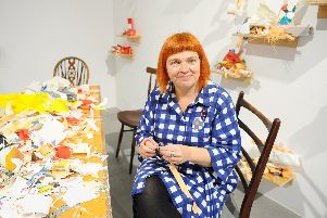 Joanne Bushnell, has been director at Aspex Gallery in Gunwharf Quays, Portsmouth, for 20 years.'Picture: Sarah Standing (111119-1533)