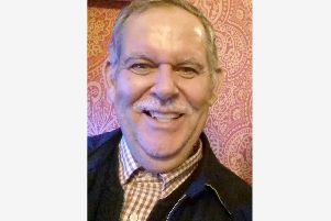 Mike Searles - his neighbours are fundraising for his funeral as he is very ill
