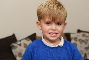 Jensen Casey (6) was diagnosed with a rare condition called Desanto-Shinawi Syndrome in April 2019. ''Picture: Sarah Standing (111119-1655)