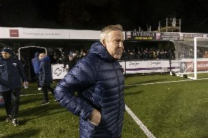 Kenny Jackett saluted his team's character following a 2-1 FA Cup win at Harrogate Town. Picture: Daniel Chesterton/PinPep