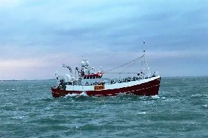 The fishing trawler which started drifting in the Solent 'Picture: RNLI Bembridge