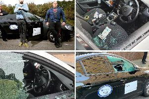 Uber and taxi drivers say they are suffering repeated vandalism