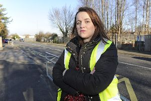 Kirsty Smillie, one of Gosport's changing places campaigners. Picture: Ian Hargreaves   (200119-4)