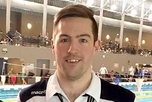 John Molyneaux won four golds at the Masters swimming championships in Sheffield
