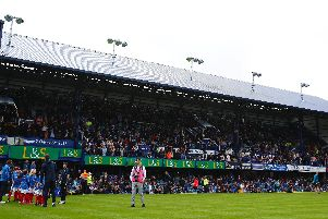 A general view of the South Stand at Fratton Park