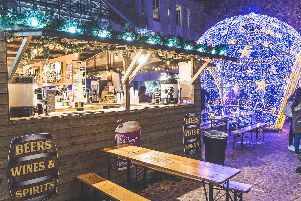Picture: Portsmouth Christmas market