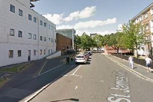 File photo of St James's Road in Southsea. Picture: Google