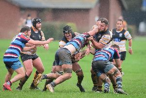 Portsmouth Rugby action. Picture: Keith Woodland (091119-53)
