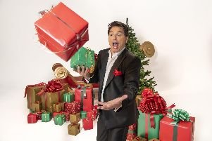 John Barrowman's Christmas show is at Portsmouth Guildhall on December 9, 2019.