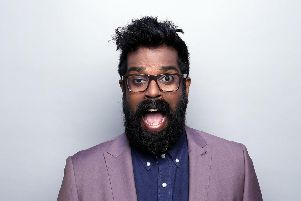 Romesh Ranganathan is coming to Portsmouth for four tour dates next year
