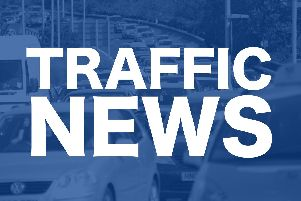 The A27 has reopened but heavy delays remain