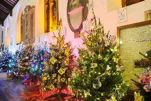 The 11th Alverstoke Christmas Tree Festival took place on Friday, December 6, at St Mary's Church in Alverstoke. Picture: Sarah Standing (061219-3137)