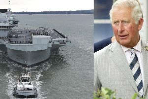 The Prince of Wales will be on hand to commission his namesake carrier