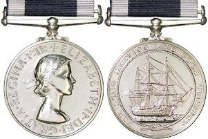 Joe Ousalice will be presented with his Long Service and Good Conduct medal again today