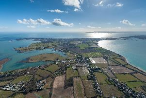 An aerial picture of Hayling Island, looking south. Picture: Shaun Roster