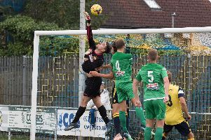 Goalkeeper Jake Hallett remains sidelined with a suspected hernia injury. Picture: Duncan Shepherd