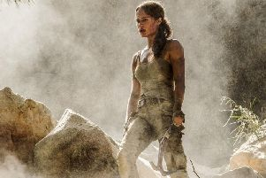 Alicia Vikander as Lara Croft