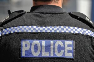 Police were looking for a man after the schoolgirl was spat at