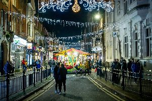 Rugby Christmas Lights Switch On 2018