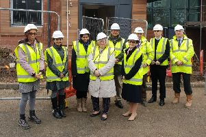 Residents of Brownsover were joined by staff from NHS Coventry and Rugby Clinical Commissioning Group (CCG) for the visit.