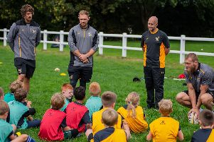 Youngsters at last years Wasps Coachclass programme