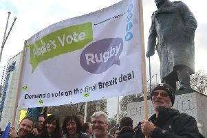 Image provided by People's Vote Rugby.