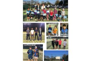 The club's collage of pictures from the Rugby Evening Classic last week