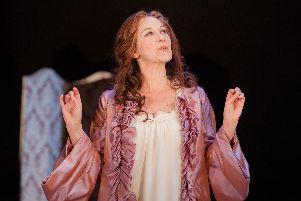Alexandra Gilbreath as Lady Brute. Picture: Pete Le May