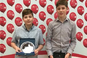 Caring Rugby brothers win fundraising award for helping Birmingham Children's Hospital